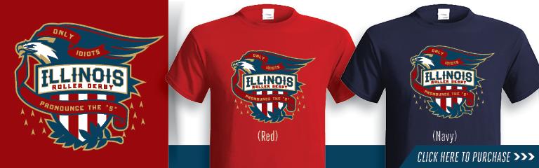 Team Illinois Roller Derby Shirt